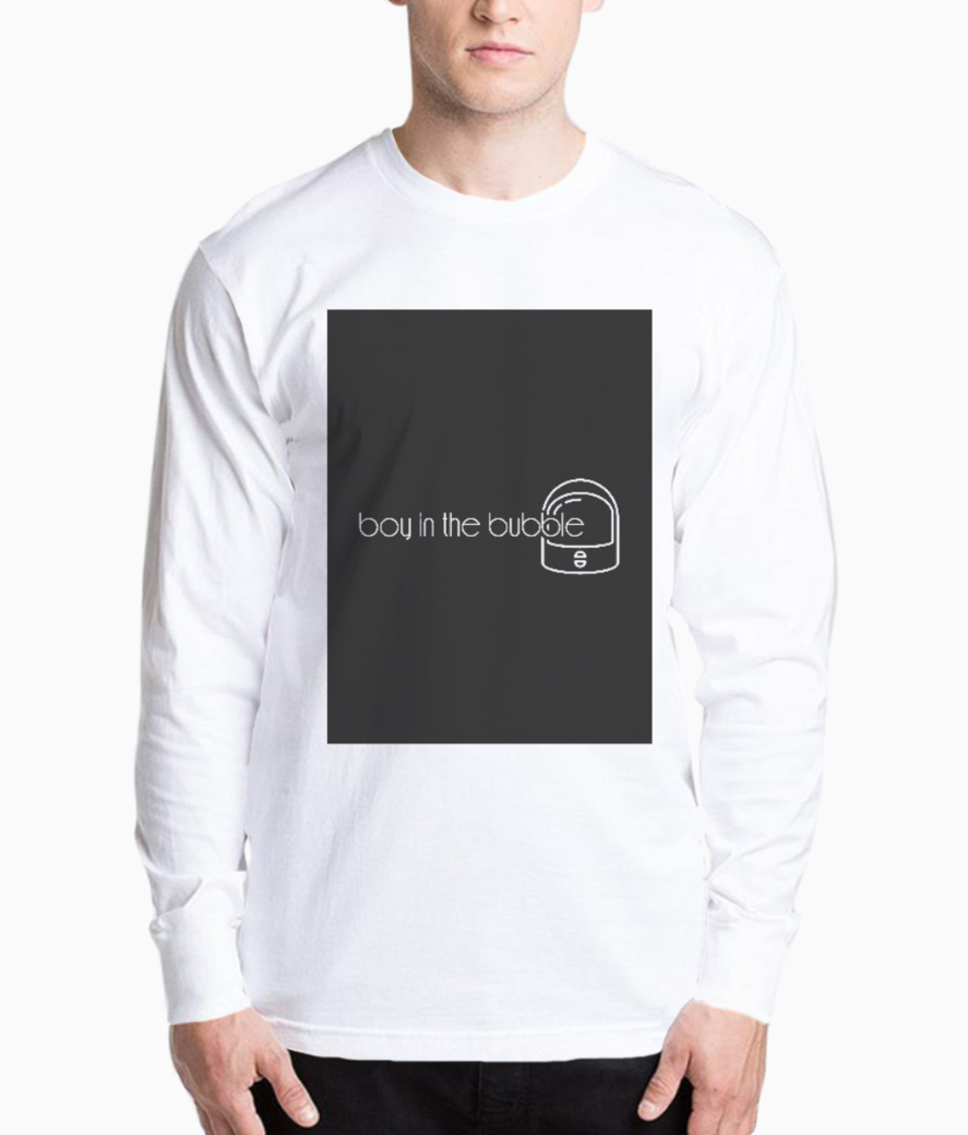 Boy in the bubble henley front