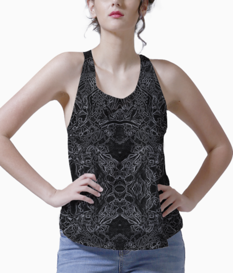 Abstract blue %282%29 tank front