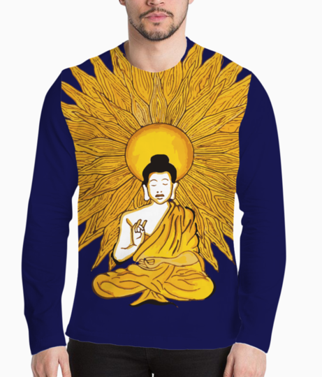 Buddha 1500 henley front