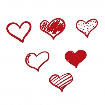 Doodle love icon 1034 778
