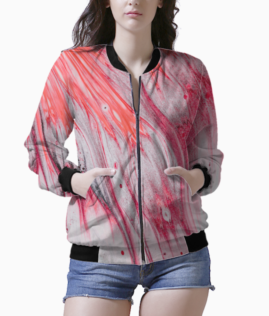 Coral wave bomber front