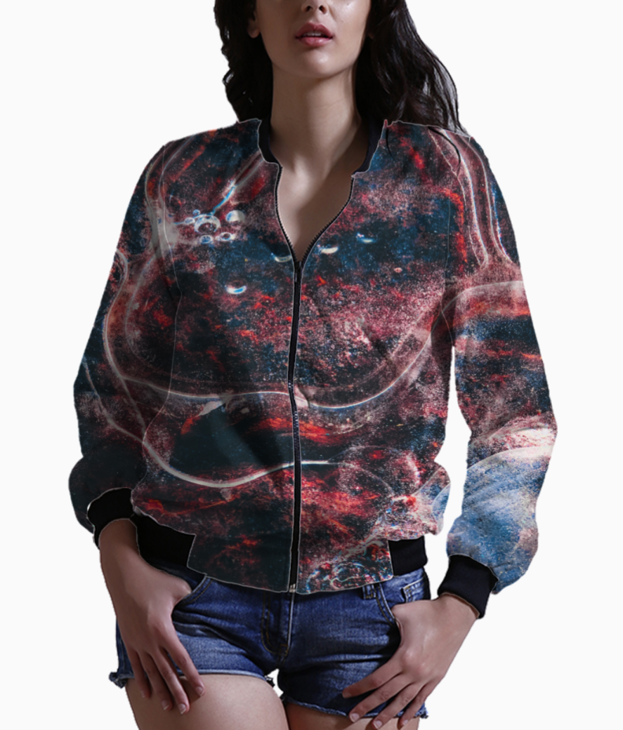 Jazzy bomber front