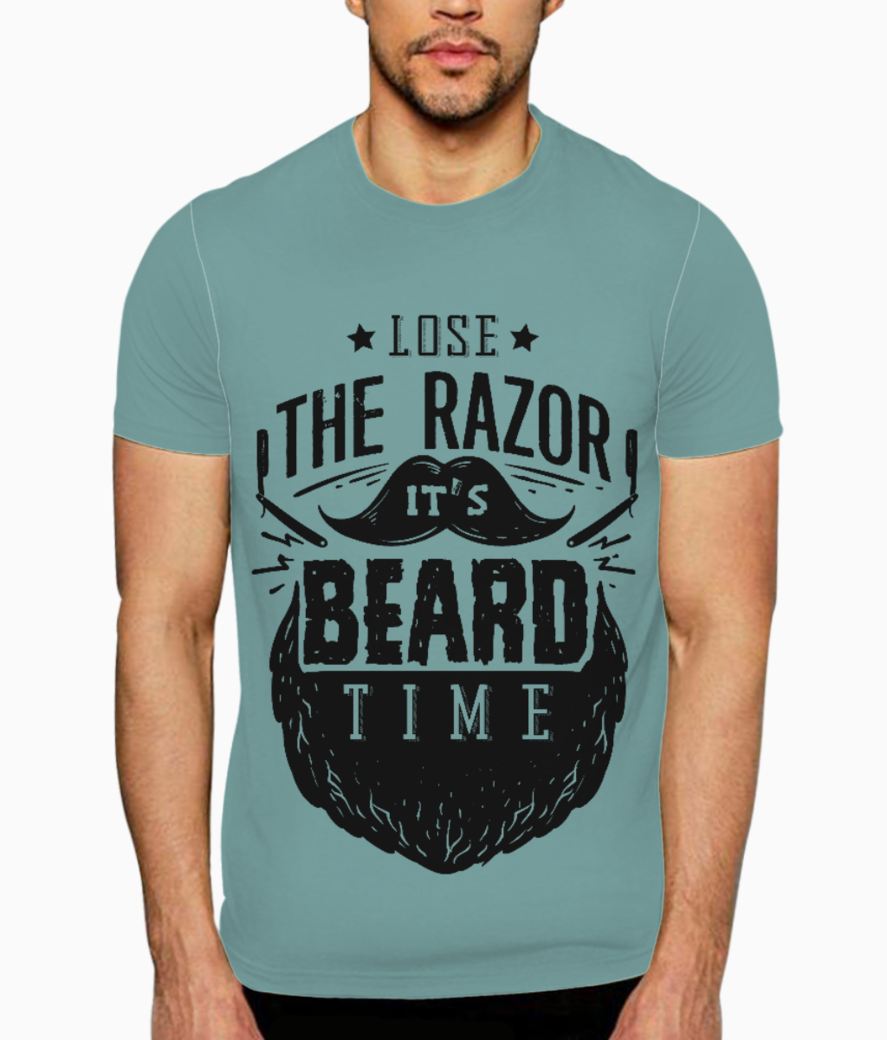 Beard time t shirt front