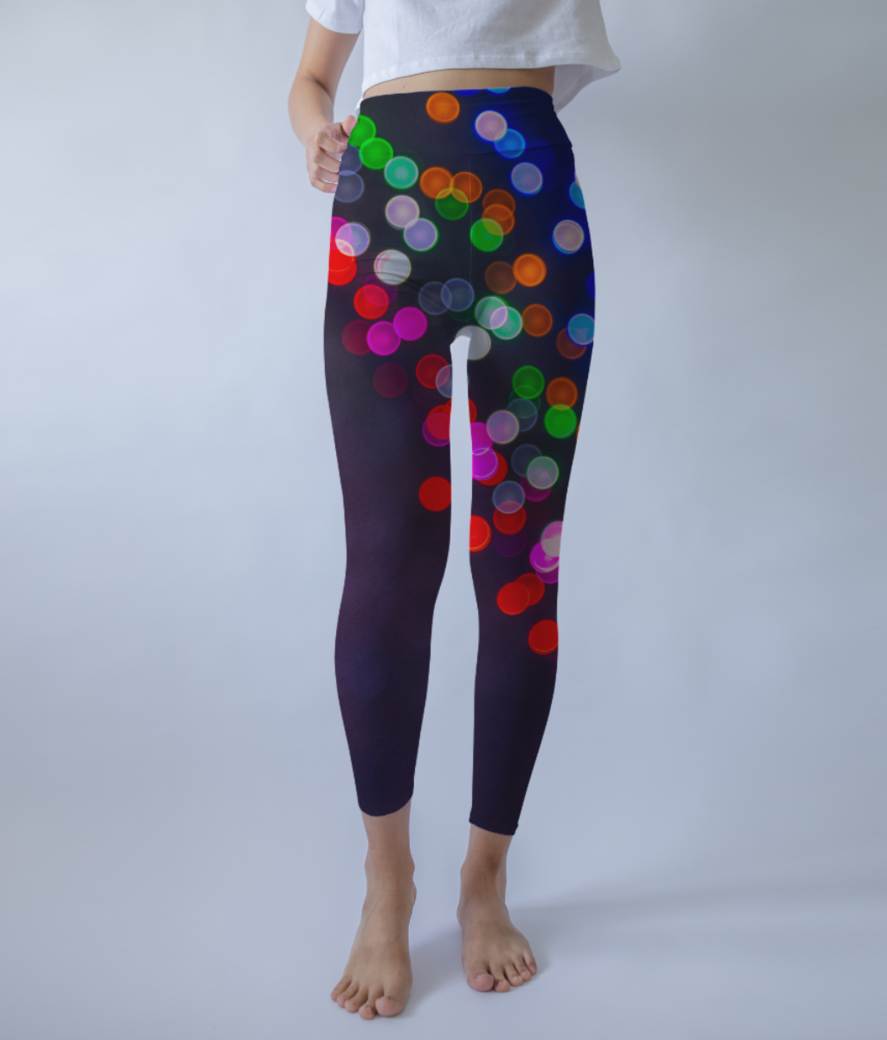 Dotted kenny leggings front