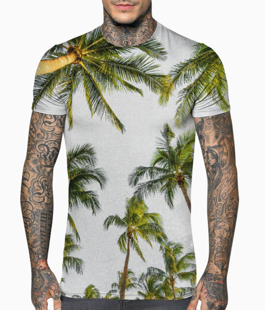 Coconut fall t shirt front