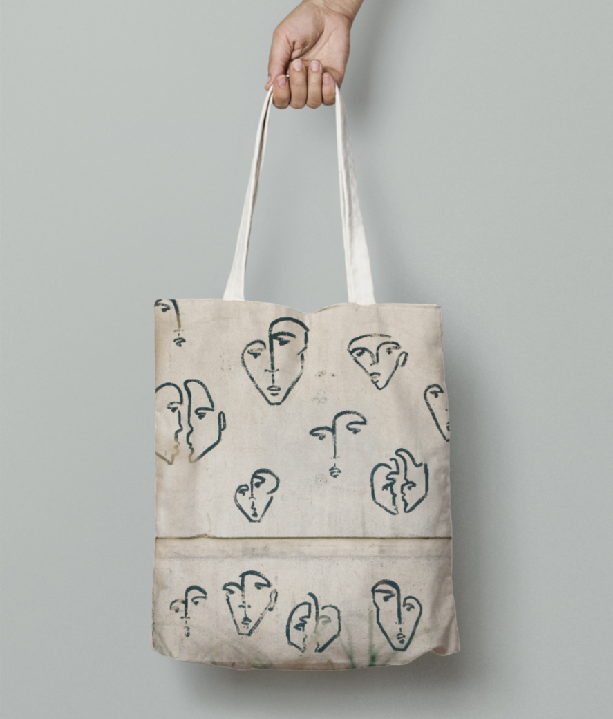 Who is who tote bag front