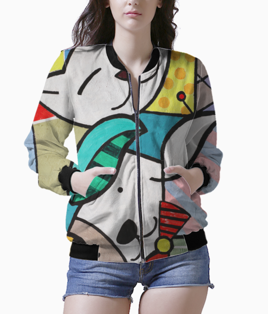 Animal lovers bomber front
