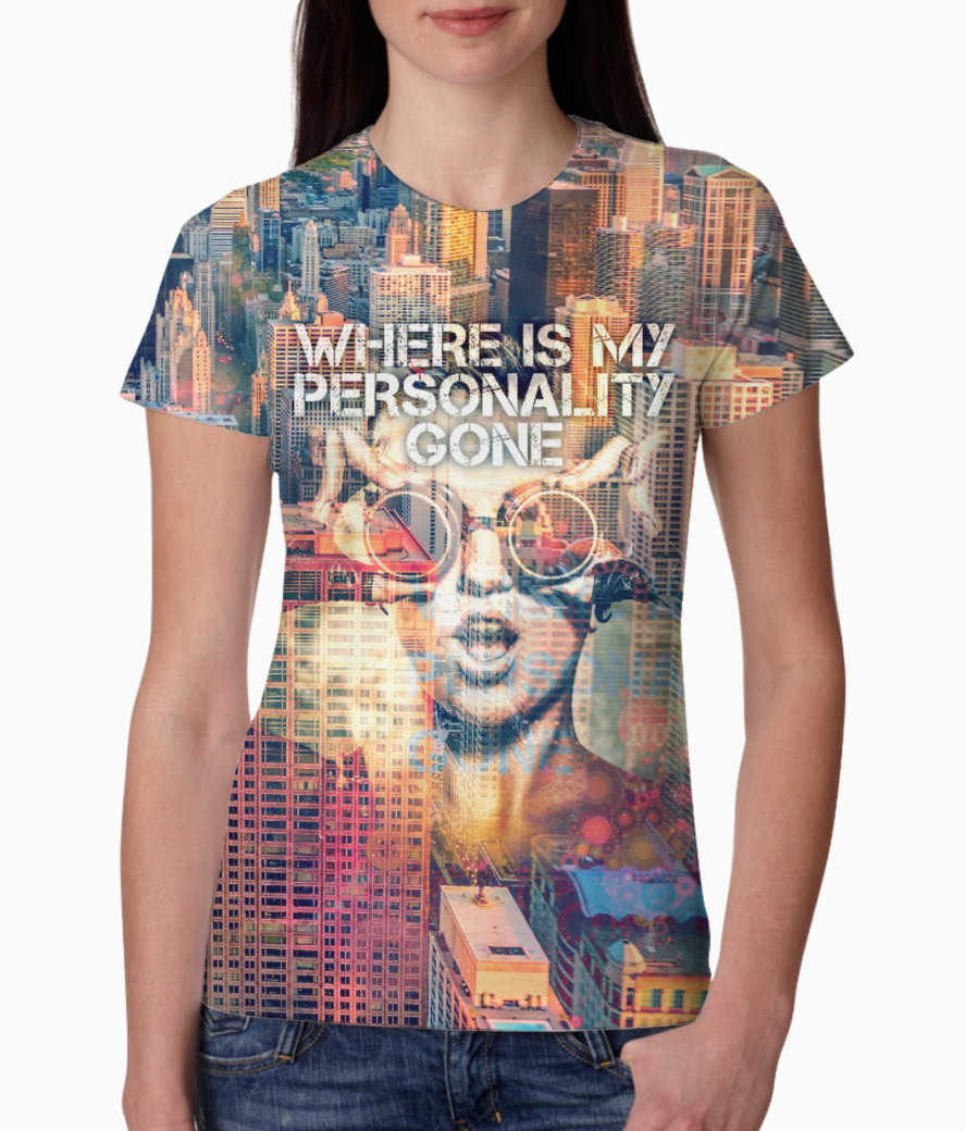 Personality tee front