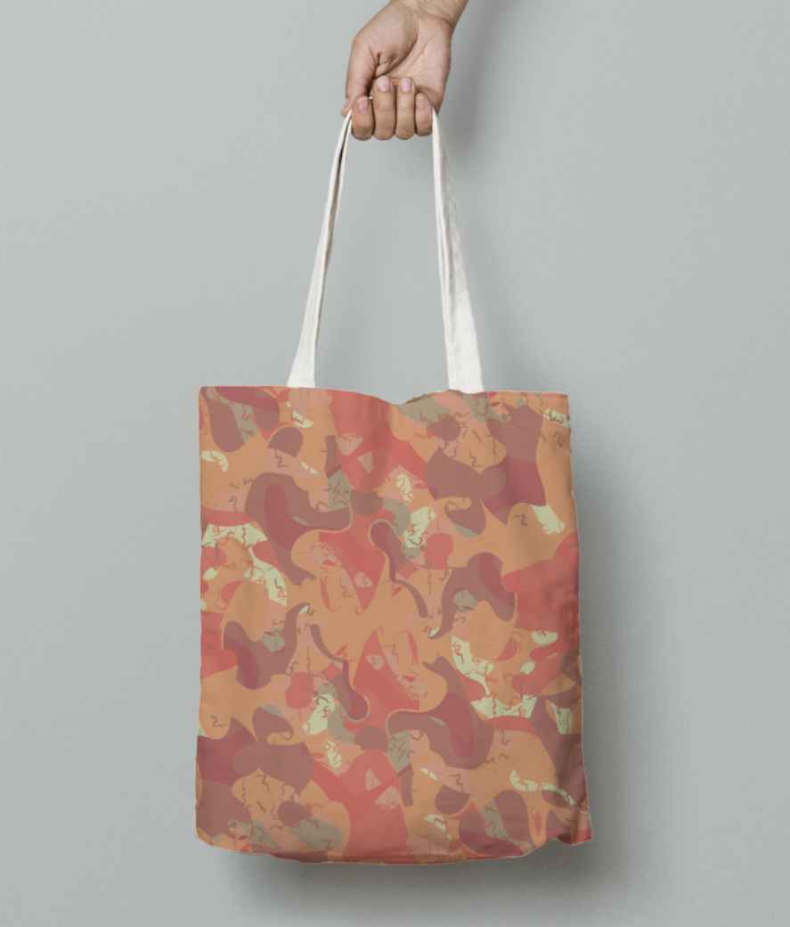 Wild fire tote bag front