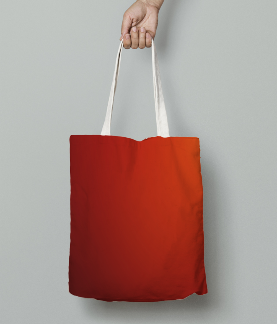 Dawn abstract tote bag front