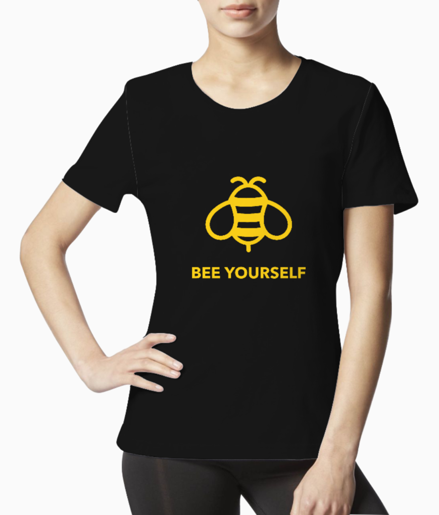 Quote t shirt design maker with a bee illustration 1808f tee front