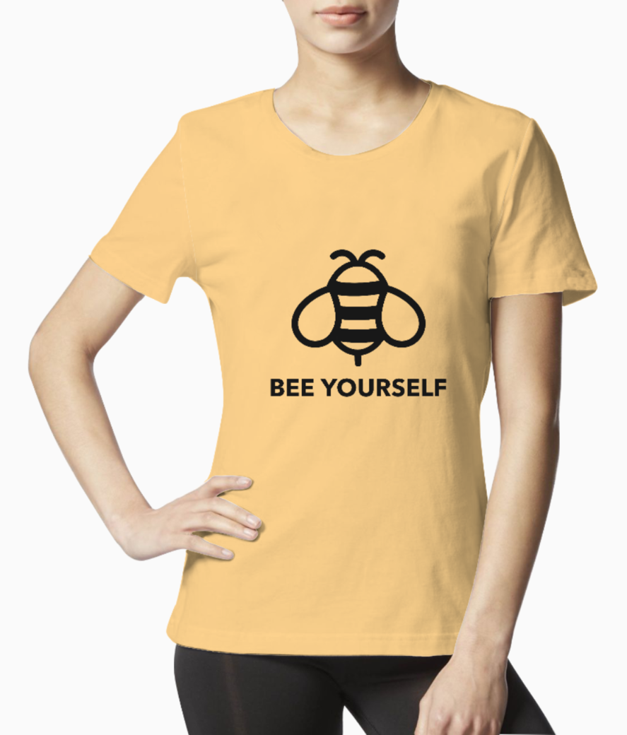 Quote t shirt design maker with a bee illustration 1808f %281%29 tee front