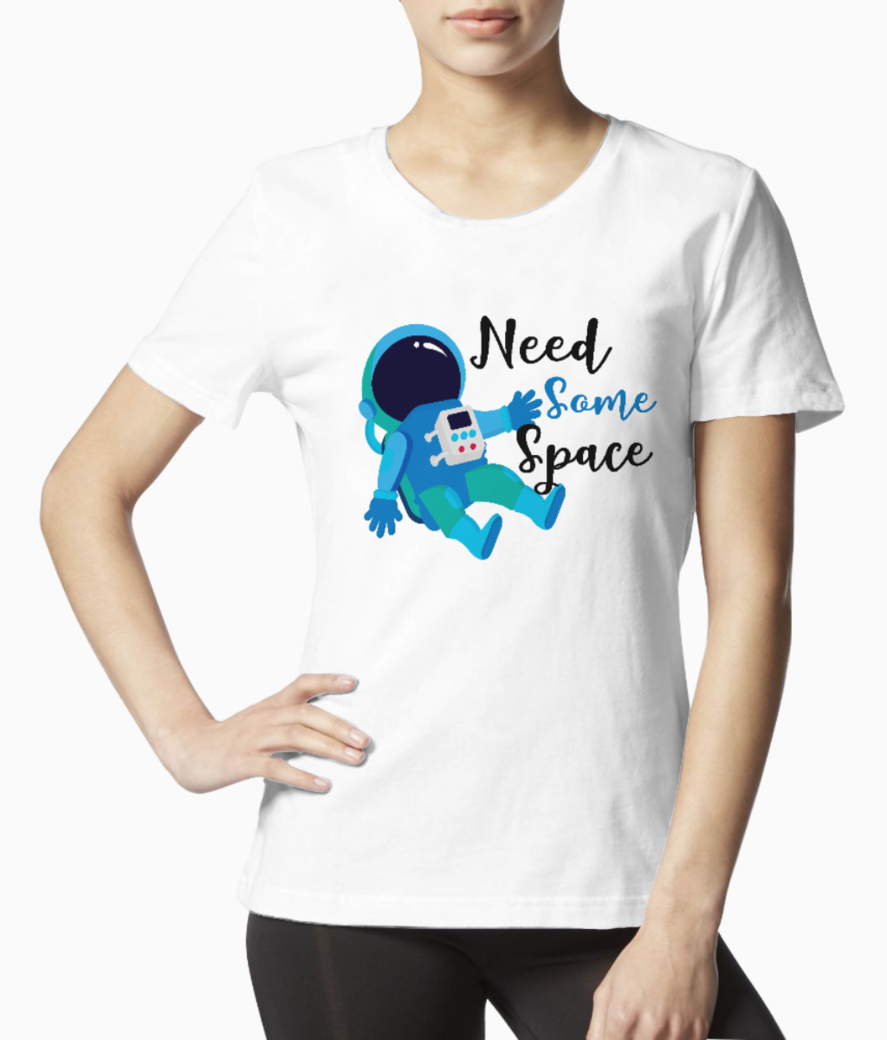 Need some space tee front