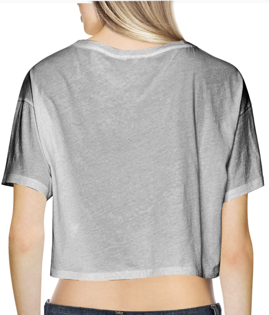 Need some space crop top back