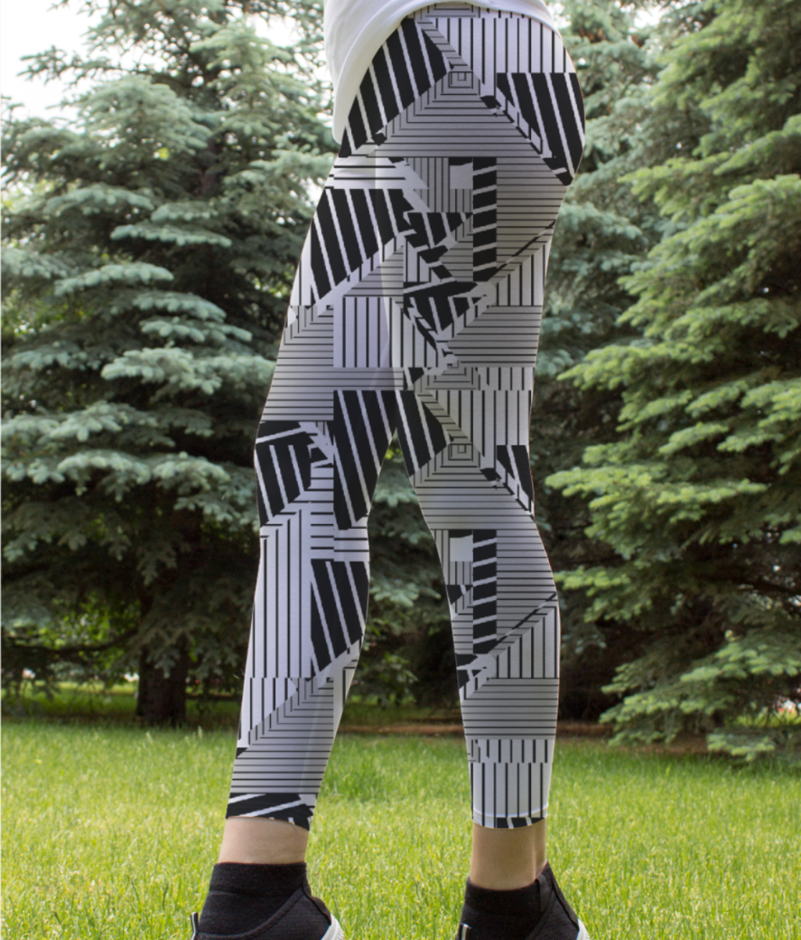 Ucly patchw 01 leggings front