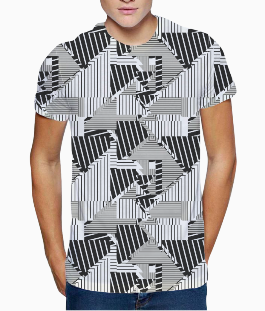 Ucly patchw 01 t shirt front