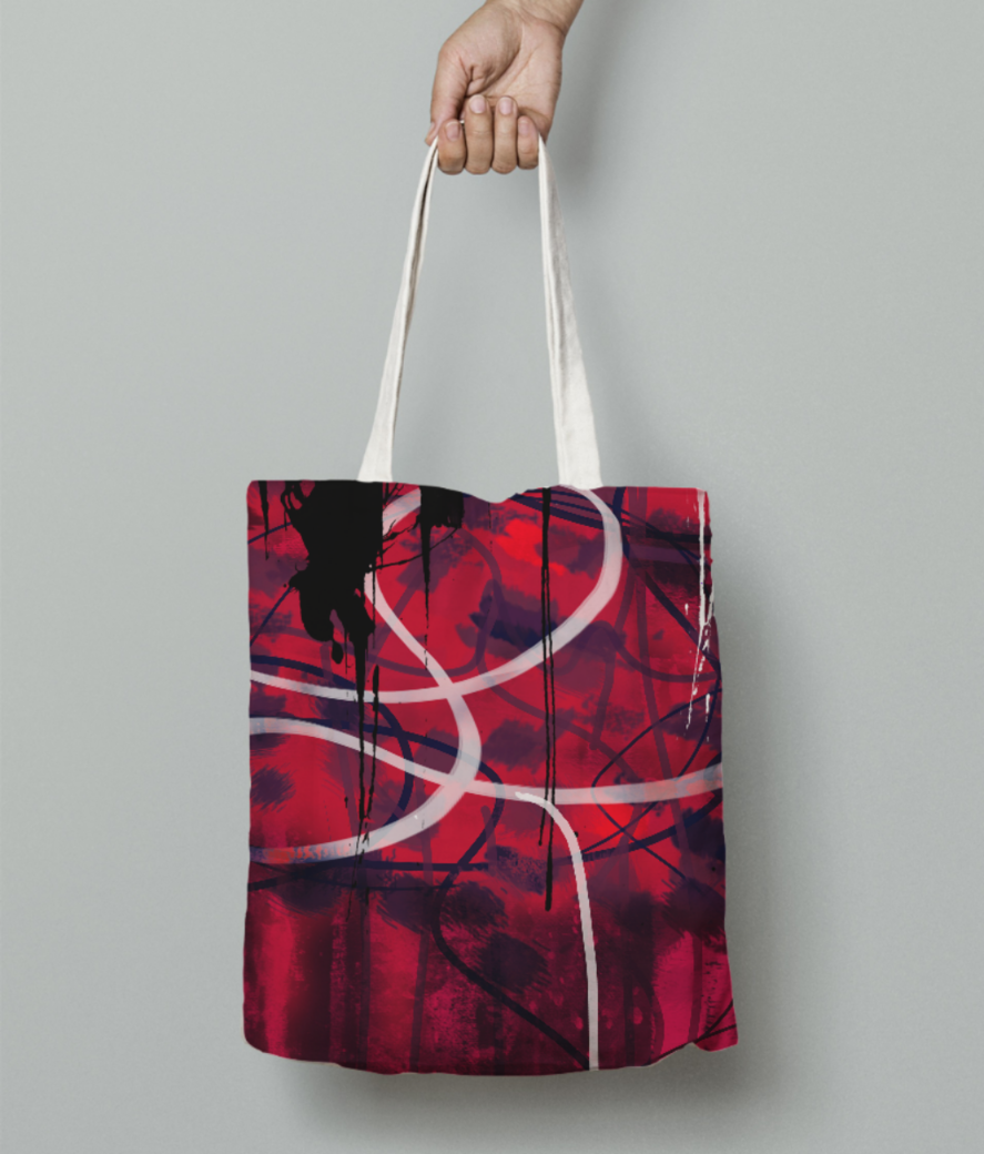 Pillow case file 2 tote bag front